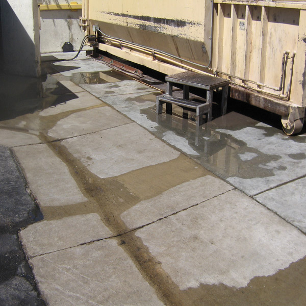 Driveway Cleaning Oil Stain Removal Commerical Property