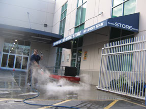 Pressure Washing Surface Cleaning Commercial Properties