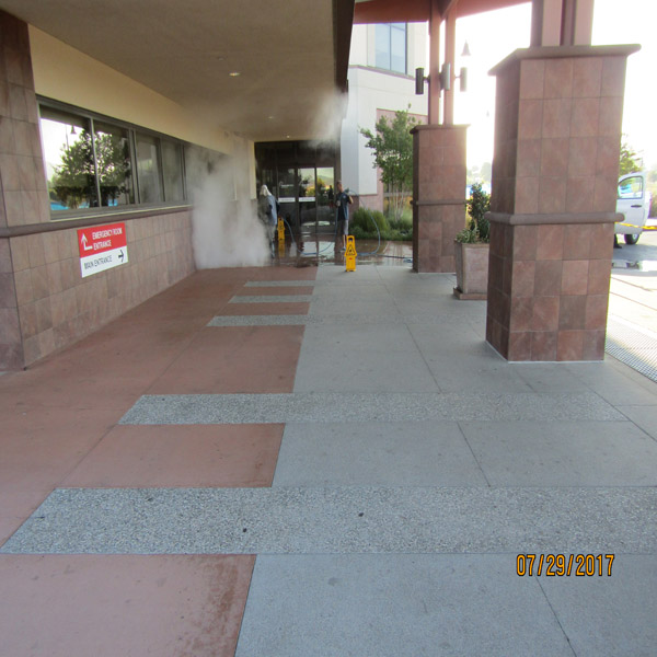 Concrete Cleaning Commercial Properties