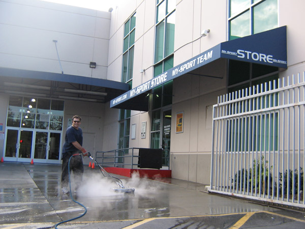 Concrete Cleaning Surface Cleaning Commercial