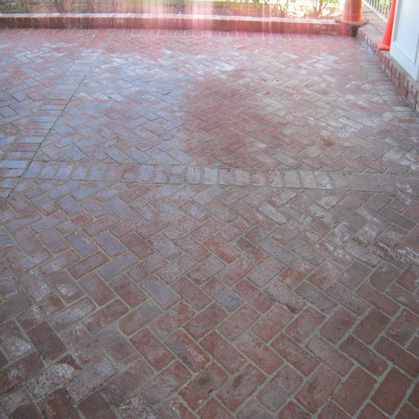 Driveway Cleaning Pressure Washing Oil Removal Brick