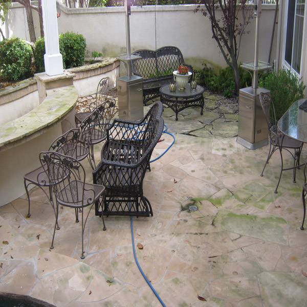 Pressure Washing Surface Cleaning Patio