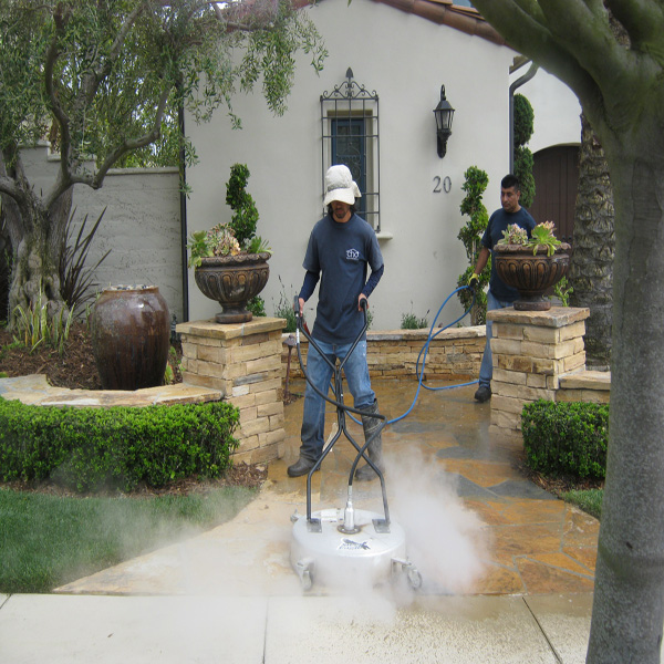 Pressure Washing Surface Cleaning Decorative Concrete