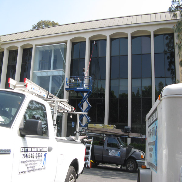 Window Cleaning Commercial Properties